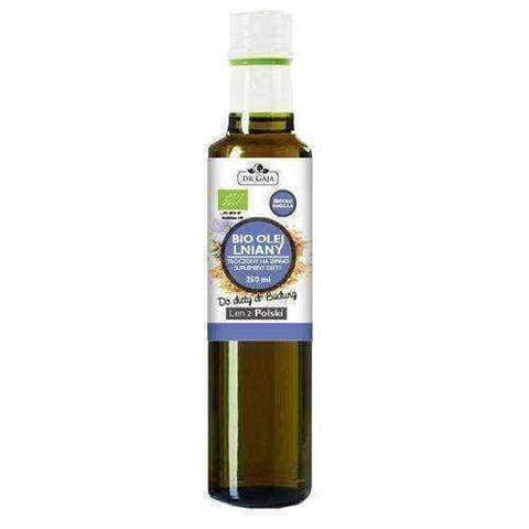 Dr Gaja Bio Linseed oil, unrefined, 250ml