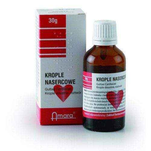 Drops CARDIAC 30g 6+ stress heart attack, stress symptoms, heart attack