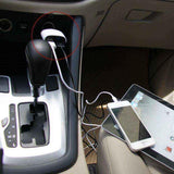 Car phone charger Dual USB LED Display