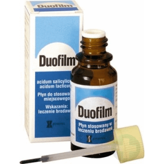 Duofilm wart remover, duofilm solution, Duofilm liquid 15ml