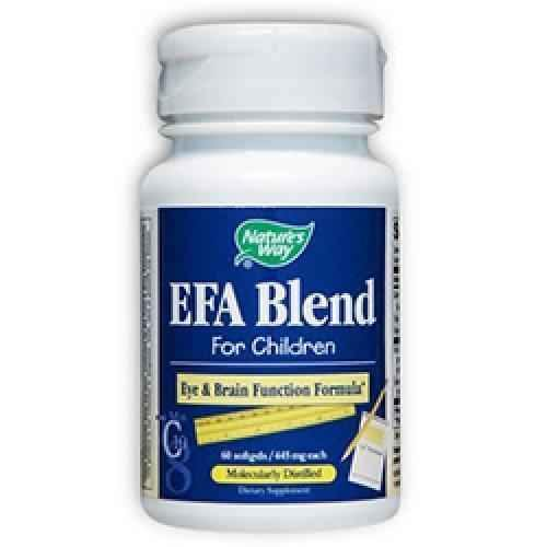 EFA Blend for children, 445 mg 60 capsules UK