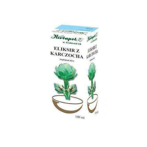 ELIXIR WITH ARTICHOKE 100ml, bile supplements, healthy weight loss