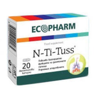 EN-TI-TUS for cough 20 capsules, N-TI-TUSS