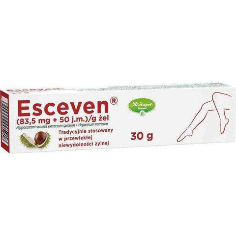 ESCEVEN gel 30g edema medical