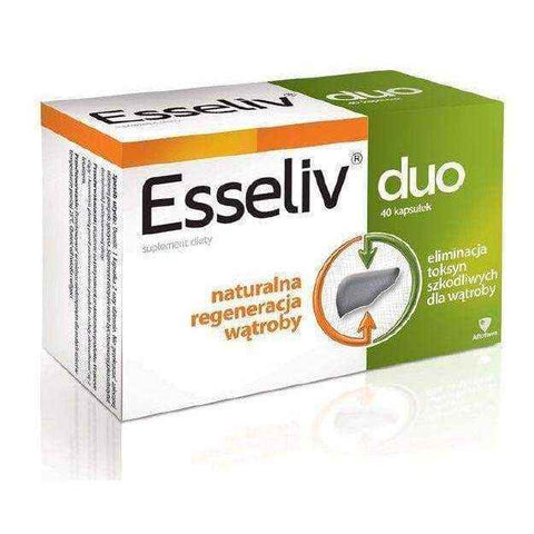 ESSELIV DUO x 40 capsules, organic lecithin, l-aspartate benefits
