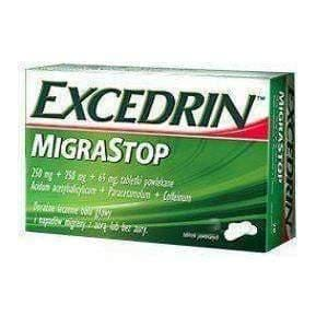 EXCEDRIN Migrastop x 20 tablets migraine headache treatment