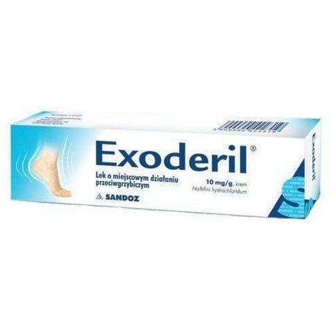 EXODERIL 1% cream 15g reducing ringworm, relieves itching and redness
