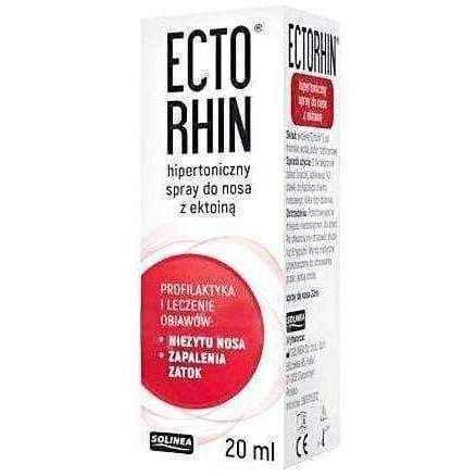 Ectorhin hypertonic nasal spray 20ml