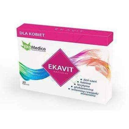 Ekavit Women x 30 capsules, multivitamin for women
