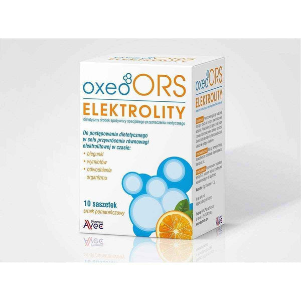 Electrolytes Oxeo ORS sachets x 10.