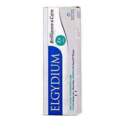Elgydium Brilliance & Care Toothpaste against discoloration 30ml.