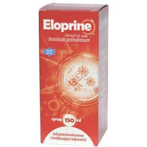 Eloprine syrup 250mg / 5ml 150 ml responsible for antiviral activity 12month+