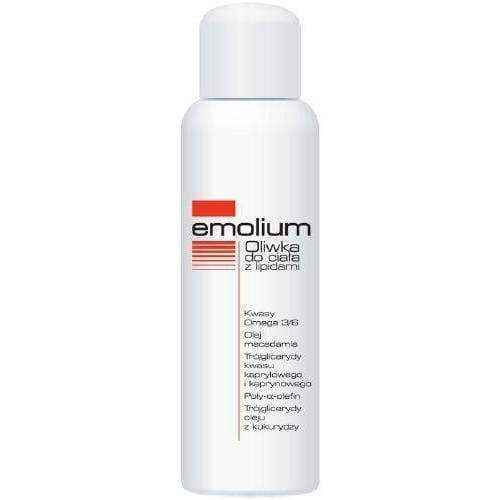 Emolium Oil Body lipids 150ml - ELIVERA UK, England, Britain, Review, Buy