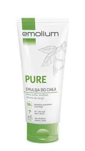 Emolium Pure Body emulsion 200ml - ELIVERA