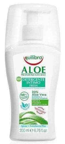 Equilibra Aloe refreshing gel for intimate hygiene 200ml