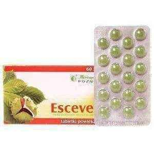 Esceven 167 mg x 60 pills, chronic venous insufficiency, venous insufficiency treatment