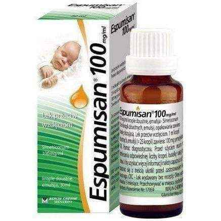 Espumisan 100mg drops 30ml for Infants, kids flatulence remedy