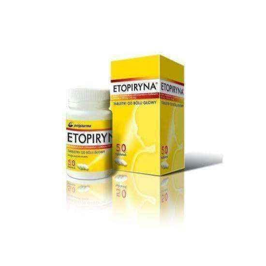 Etopiryna x 50 tablets, pain