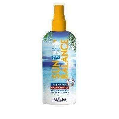 FARMONA Sun Balance mist soothing and regenerating 200ml - ELIVERA UK, England, Britain, Review, Buy