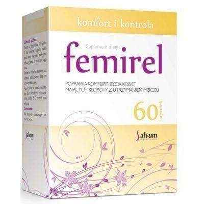 FEMIREL x 60 capsules, overactive bladder - Overactive Bladder Treatment