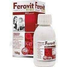 FEROVIT BIO Special Kids fluid 150g child from the age of 3+ iron supplements