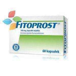 FITOPROST x 60 capsules benign prostatic hyperplasia treatment - ELIVERA UK, England, Britain, Review, Buy