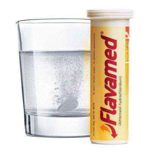 FLAVAMED 60mg x 10 effervescent tablets 12+ dry cough remedies UK