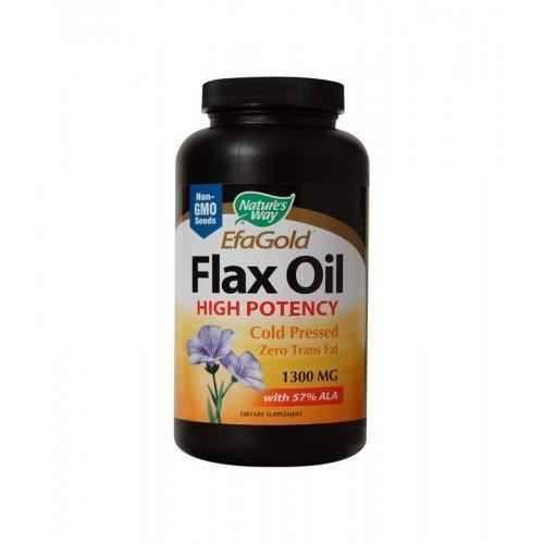 FLAX OIL 1 300 mg.100 capsules.
