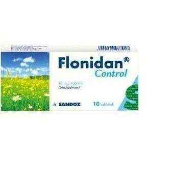 FLONIDAN CONTROL 10mg x 10 tablets, allergy treatment UK