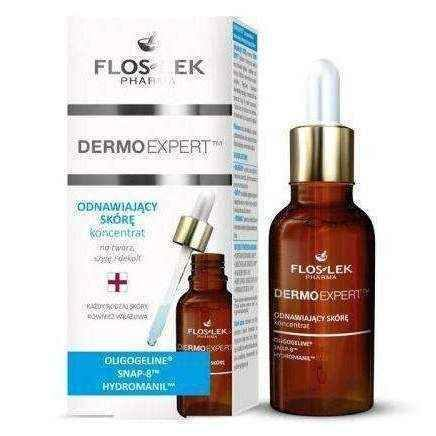 FLOSLEK Dermo Expert concentrate renewing skin 30ml