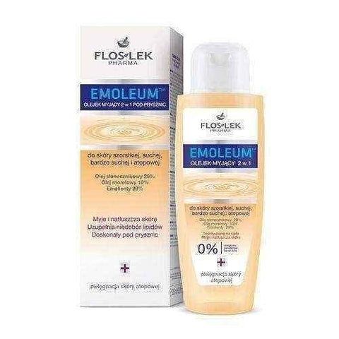 FLOSLEK EMOLEUM oil washing 2in1 skin rough, dry and atopic 200ml