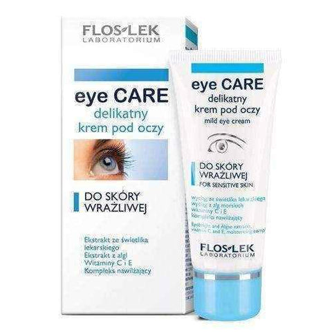 FLOSLEK EYE CARE delicate eye cream for sensitive skin 30ml
