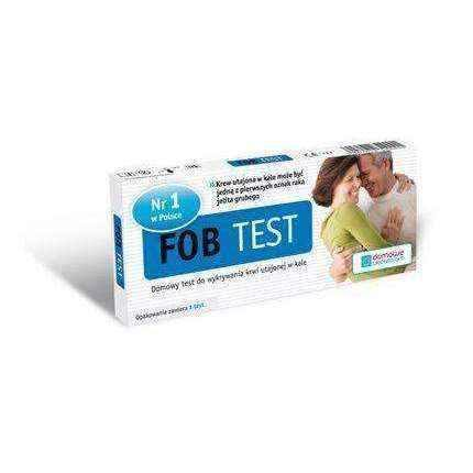 FOB Blood Test latent in faeces 1p - ELIVERA UK, England, Britain, Review, Buy