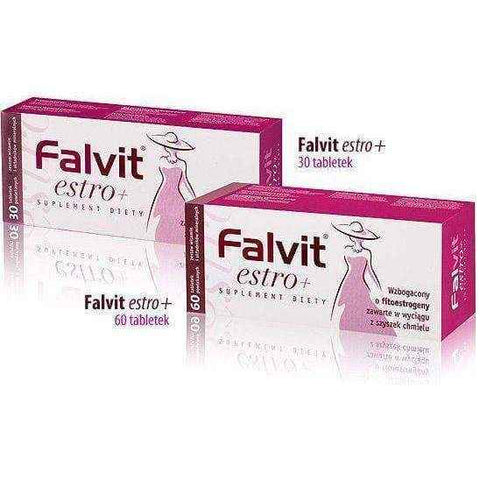 Falvit ESTRO + x 30 tablets, can neutralize the symptoms perimenopause symptoms