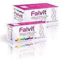 Falvit Mom (mama) x 30 tablets, pregnancy and breastfeeding vitamins and minerals