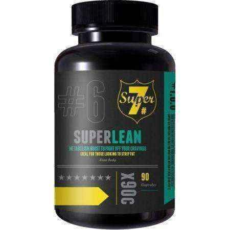 Fat burning tablets | Super lean | 90 Capsules