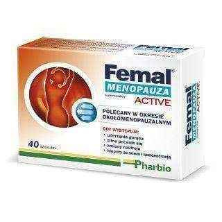 Femal Active Menopause x 40 capsules, signs of menopause