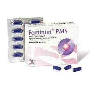 Feminon PMS 4 mg x 60 capsules, menstrual cycle