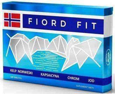 Fiord Fit x 120 tablets