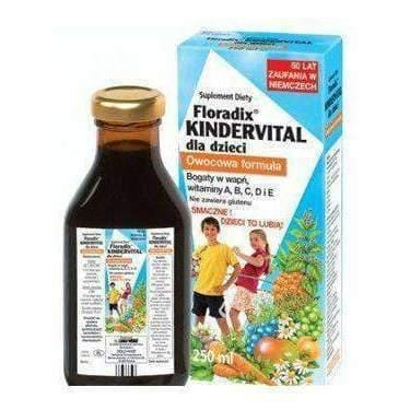 Floradix Kindervital tonic 250ml For children aged 1-2 years