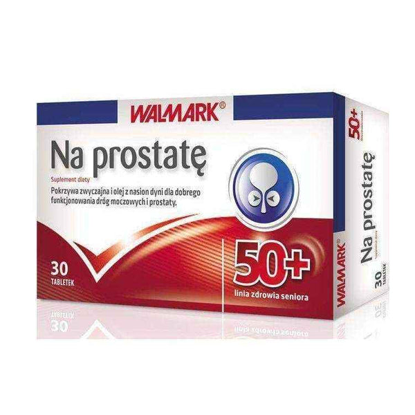 For prostate 50+ x 30 capsules, benign prostatic hyperplasia