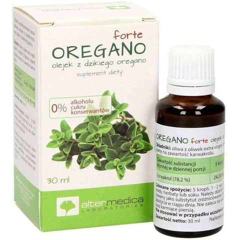 Forte oregano oil of wild oregano 30ml