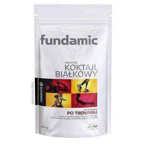 Fundamic nutritious protein shakes with vanilla flavor 300g