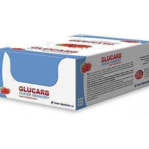 GLUCARB Dextrose lozenge with strawberry flavor x 17 pills x 27 packs
