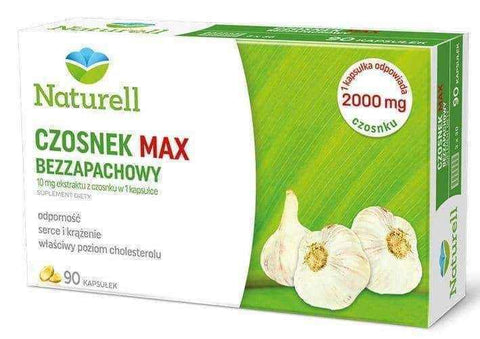 Garlic Max Unscented x 90 capsules