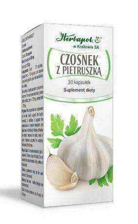 Garlic with parsley x 30 capsules