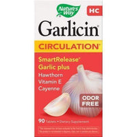 Garlicin HC, odorless garlic powder 400 mg x 90 caps..