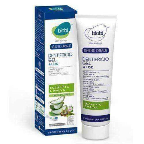 Gel toothpaste with aloe 75ml, aloe vera tooth gel, aloe vera toothpaste