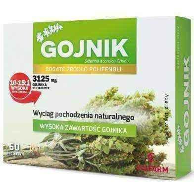 Gentile (Gojnik) x 60 tablets, polyphenols supplements UK