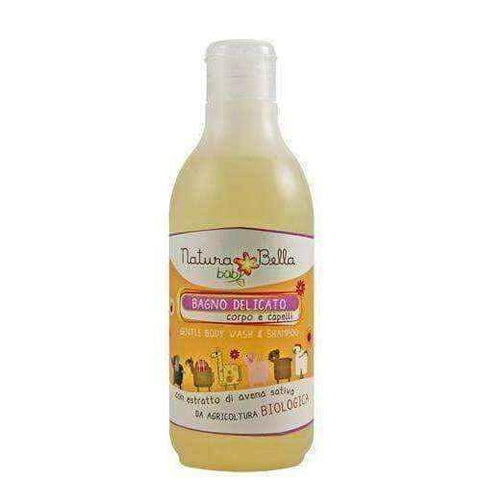 Gentle bath lotion and shampoo 2in1 250ml